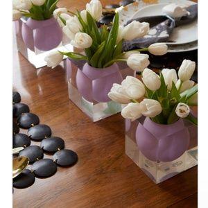 Jonathan Adler Bel Air Mini Scoop Vase - Lilac